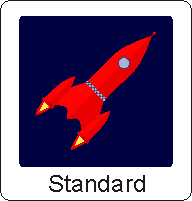 Image of a cartoon spaceship